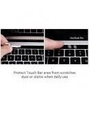 Pachet folie protectie ecran anti-glare si folie clara touchbar pentru Macbook Pro 13 Touch Bar