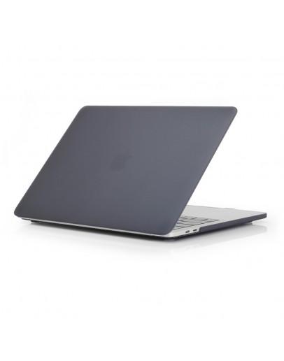 Carcasa protectie slim din plastic pentru NEW MacBook Air 13.3 retina, neagra