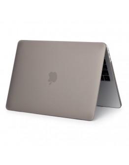 Carcasa protectie slim din plastic pentru NEW MacBook Air 13.3 retina, gri