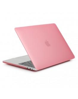 Carcasa protectie slim din plastic pentru NEW MacBook Air 13.3 retina, roz