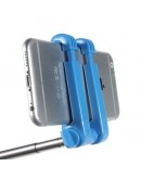 Selfie Stick extensibil cu bluetooth - albastru