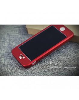 Husa protectie completa IPAKY pentru iPhone SE 5s 5, Rosie