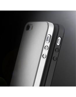 Husa protectie completa IPAKY pentru iPhone SE 5s 5, Neagra