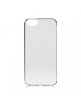 Carcasa protectie spate Rock din gel TPU 0.6mm pentru iPhone 5 / 5S / SE, gri