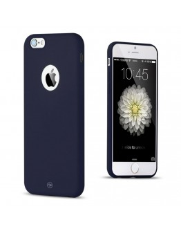Carcasa protectie spate FSHANG din gel TPU pentru iPhone 6 Plus / 6S Plus 5.5 inch, albastru