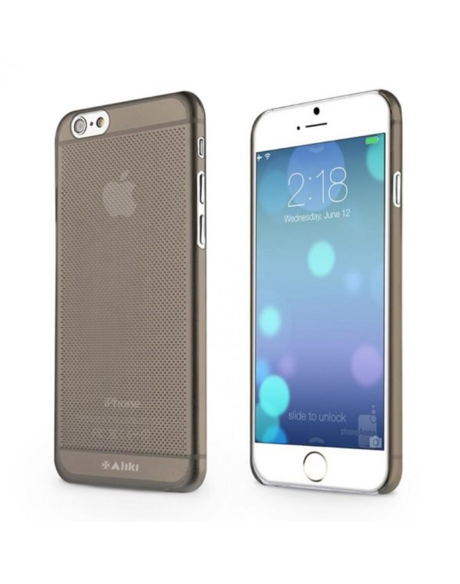 01013242e0d Carcasa protectie spate tip mesh din gel TPU pentru iPhone 6 Plus / 6S Plus  5.5