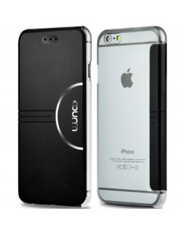 """Husa protectie Flip Cover pentru iPhone 6 Plus / 6S Plus 5.5"""", neagra"""