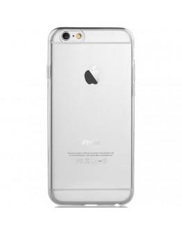Carcasa protectie spate subtire DEVIA din gel TPU pentru iPhone 6 Plus / 6S Plus 5.5 inch, transparenta