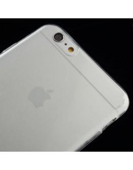 """Carcasa protectie spate din gel TPU 0.6 mm pentru iPhone 6 Plus / 6S Plus 5.5"""", transparenta"""