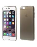 """Carcasa protectie spate din gel TPU 0.3 mm pentru iPhone 6 Plus / 6S Plus 5.5"""", gri"""