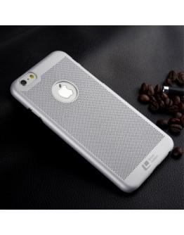 "Carcasa protectie spate din plastic mesh pentru iPhone 6 Plus / 6S Plus 5.5"", gri"