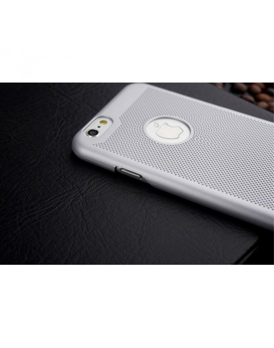 20615f0b32c ... Carcasa protectie spate din plastic mesh pentru iPhone 6 Plus / 6S Plus  5.5