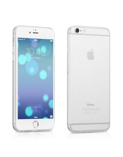 "Carcasa protectie spate din plastic pentru iPhone 6 Plus / 6S Plus 5.5"", alba"