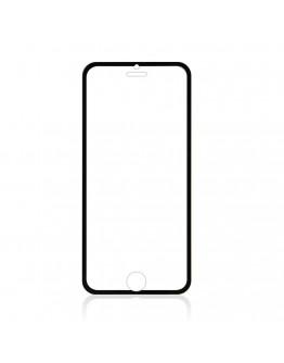 Sticla securizata 0.3mm protectie ecran cu rama pentru iPhone 6s / 6 4.7 inch, neagra