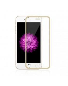 Sticla securizata 0.3mm protectie ecran cu rama pentru iPhone 6s / 6 4.7 inch, gold