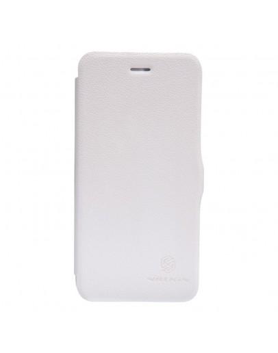 Husa protectie Flip Cover pentru Iphone 6 /6S, alba