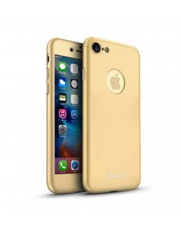 Husa protectie completa IPAKY pentru iPhone 6 / 6s, gold