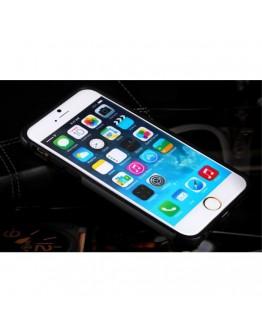 Carcasa protectie spate BENWIS din plastic si gel TPU pentru iPhone 6 / 6s, gri