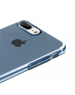 Carcasa protectie BASEUS din gel TPU pentru iPhone 7 Plus 5.5 inch, albastra