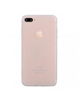 Carcasa protectie spate din gel TPU pentru iPhone 7 Plus, transparenta