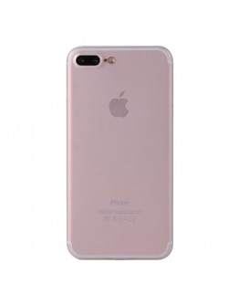 Carcasa protectie spate din plastic 0.4 mm pentru  iPhone 8 Plus / 7 Plus, transparenta