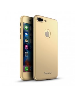 Husa protectie completa IPAKY pentru iPhone 7 4.7 inch, gold