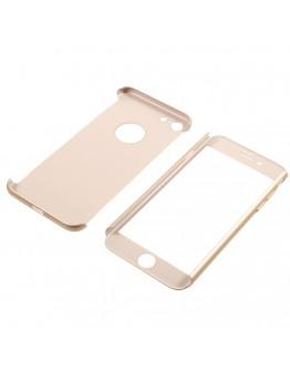 Husa protectie completa IPAKY pentru iPhone 7 4.7 inch, gold