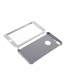 Husa protectie completa IPAKY pentru iPhone 7 Plus 5.5 inch, silver