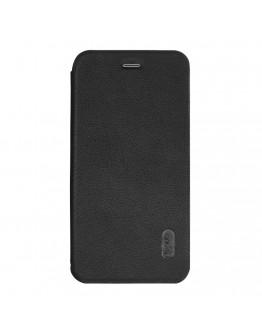Husa protectie Flip Cover LENUO pentru iPhone 7 4.7 inch, neagra