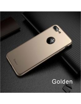 Husa protectie completa IPAKY pentru  iPhone 8 Plus,  gold