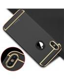 Carcasa protectie spate din plastic pentru iPhone X/Xs 5.8 inch, neagra