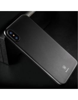 Carcasa protectie spate din plastic pentru iPhone X/Xs 5.8 inch, transparenta