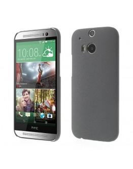 "Carcasa protectie spate ""quicksand"" pentru HTC One M8- gri"