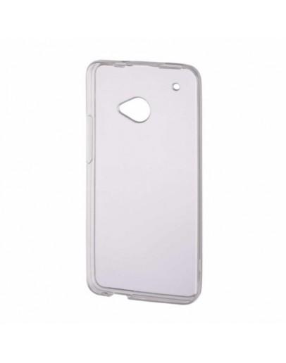 Carcasa protectie spate din gel TPU pentru HTC One Mini - transparenta