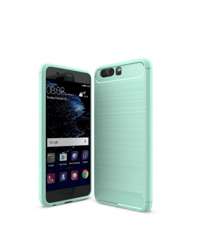 Carcasa protectie spate din gel TPU pentru Huawei P10 Plus, verde deschis