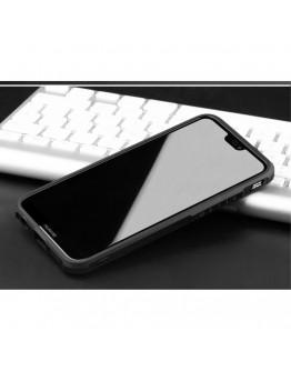 "Carcasa protectie spate ,,Pisica"" pentru Huawei P20 Lite, neagra"