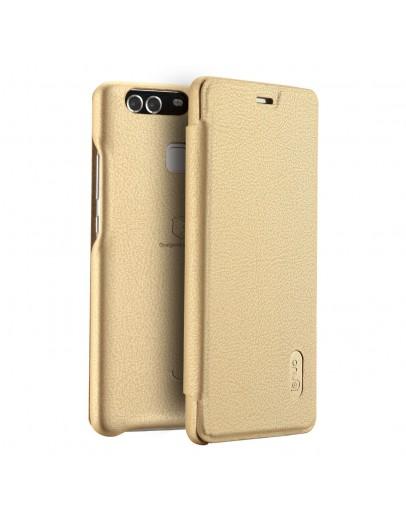 Husa de protectie LENUO pentru Huawei P9, gold