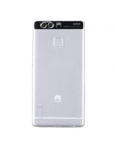 Carcasa protectie spate 0.6mm LENUO din gel TPU pentru Huawei P9, transparenta