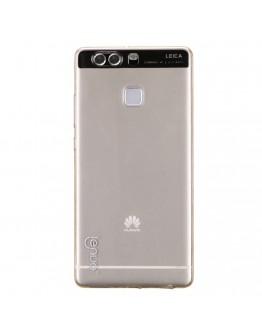 Carcasa protectie spate 0.6mm LENUO din gel TPU pentru Huawei P9, gold