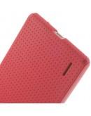 Carcasa protectie spate Mesh pentru Huawei Ascend P7 - roz
