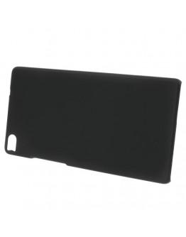 Carcasa protectie spate din plastic pentru Huawei Ascend P8 - neagra