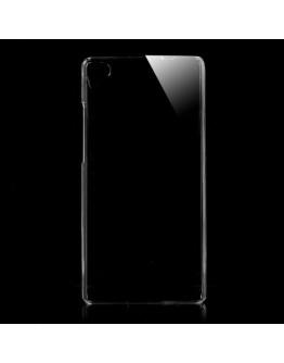 Carcasa protectie spate din plastic transparent pentru Huawei Ascend P8