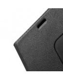 Husa protectie cu fereastra pentru Huawei Ascend P8 - neagra