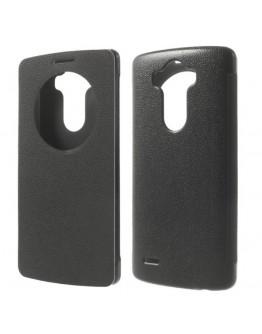 """Husa de protectie flip cover cu """"window view"""" pentru LG G3 D850 - neagra"""