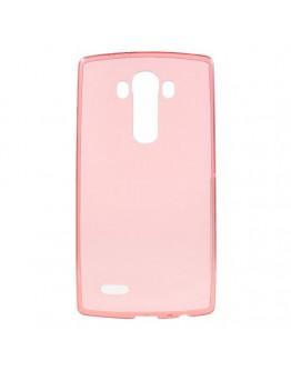 Carcasa protectie spate 0.6mm pentru LG G4 - rosie