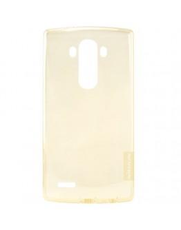 Carcasa protectie spate Nillkin 0.6mm pentru LG G4 - gold