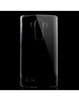 Carcasa protectie spate din plastic pentru LG G4 - transparenta