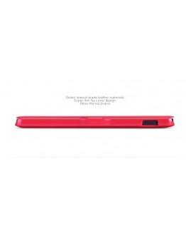 Husa flip cover slim pentru LG Google Nexus 5 - rosie