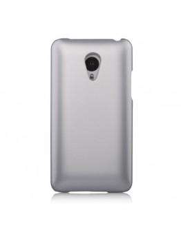 Carcasa protectie spate din plastic pentru Meizu MX4 - gri deschis