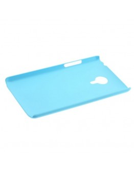 Carcasa protectie spate din plastic pentru MEIZU MX4 - albastra